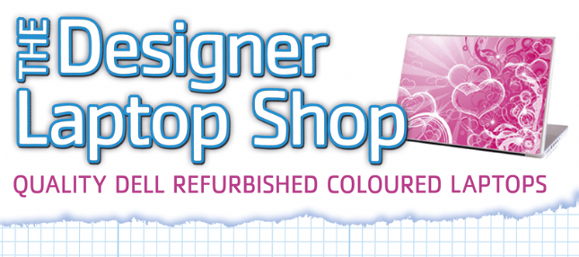 The Designer Laptop Shop Logo - Link to homepage